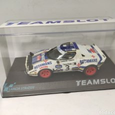 Slot Cars: TEAM SLOT LANCIA STRATOS CATALUNYA' 76 REF. 11507 TEAMSLOT. Lote 204790267