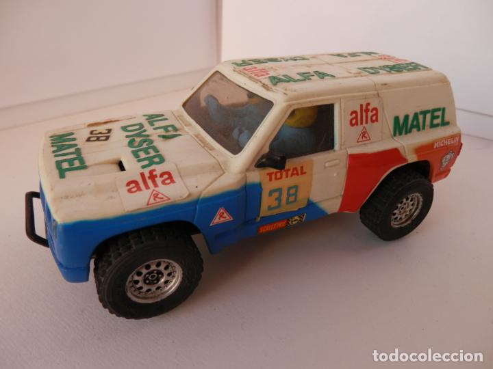 SCALEXTRC - NISSAN PATROL - TRACCION 4 RUEDAS - PERFECTO ESTADO - VER FOTOS Y DESCRIPCION (Juguetes - Slot Cars - Team Slot)