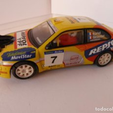 Slot Cars: SCALEXTRIC - SEAT CORDOBA WRC - TECNI TOYS - PERFECTO ESTADO - VER FOTOS Y DESCRIPCION. Lote 204805226