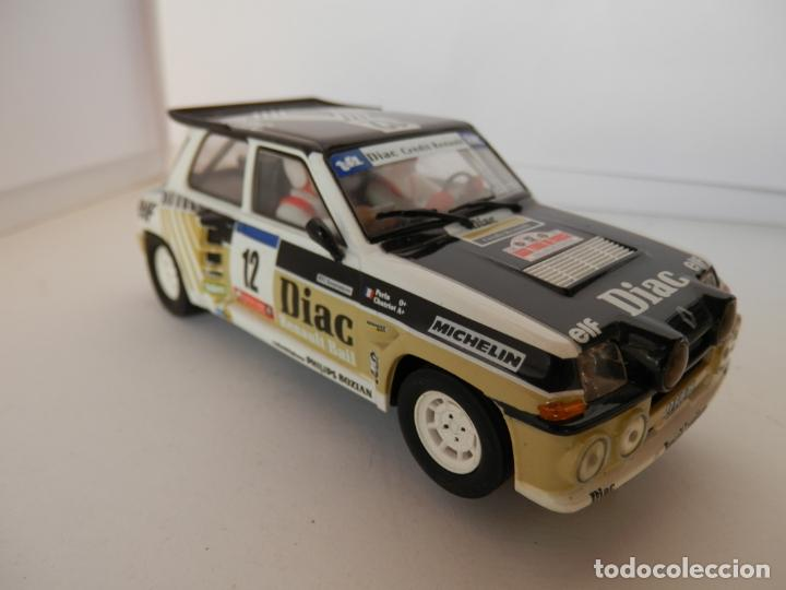 Slot Cars: SCALEXTRIC - RENAULT 5 - MAXI TURBO - PERFECTO ESTADO - VER FOTOS Y DESCRIPCION - Foto 2 - 204805881