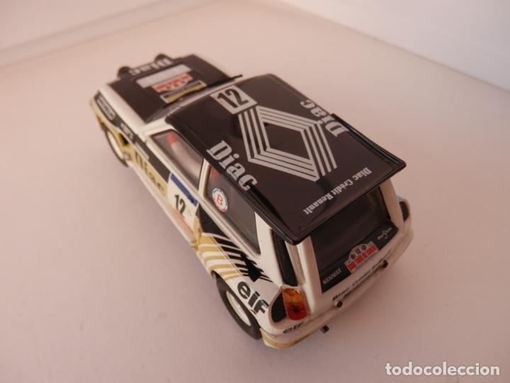 Slot Cars: SCALEXTRIC - RENAULT 5 - MAXI TURBO - PERFECTO ESTADO - VER FOTOS Y DESCRIPCION - Foto 3 - 204805881