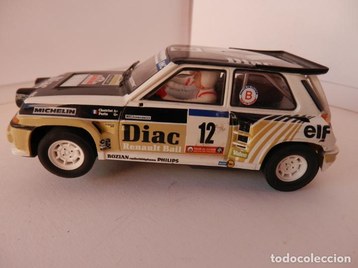 SCALEXTRIC - RENAULT 5 - MAXI TURBO - PERFECTO ESTADO - VER FOTOS Y DESCRIPCION (Juguetes - Slot Cars - Team Slot)