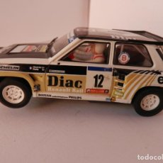 Slot Cars: SCALEXTRIC - RENAULT 5 - MAXI TURBO - PERFECTO ESTADO - VER FOTOS Y DESCRIPCION. Lote 204805881