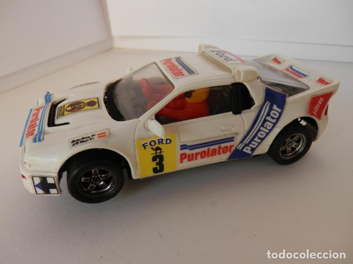 SCALEXTRIC - FORD R5 200 - PUROLATOR - PERFECTO ESTADO - VER FOTOS Y DESCRIPCION (Juguetes - Slot Cars - Team Slot)