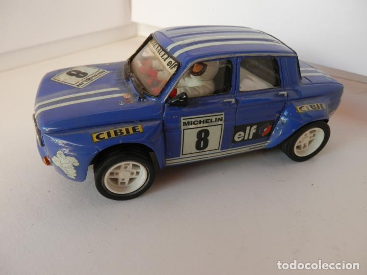 SCALEXTRIC - RENAULT 8 - TS COPA - PERFECTO ESTADO - VER FOTOS Y DESCRIPCION (Juguetes - Slot Cars - Team Slot)