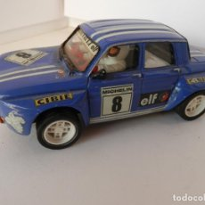 Slot Cars: SCALEXTRIC - RENAULT 8 - TS COPA - PERFECTO ESTADO - VER FOTOS Y DESCRIPCION. Lote 204809580