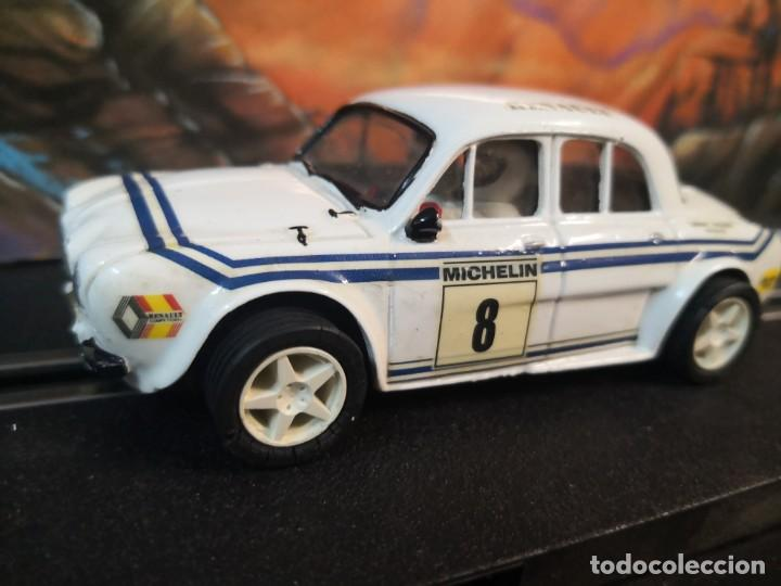 CARCASA CARROCERÍA TEAM SLOT RENAULT. MICHELIN NÚMERO 8.TAL CUÁL FOTOS (Juguetes - Slot Cars - Team Slot)