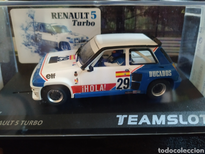 RENAULT 5 TURBO. (Juguetes - Slot Cars - Team Slot)