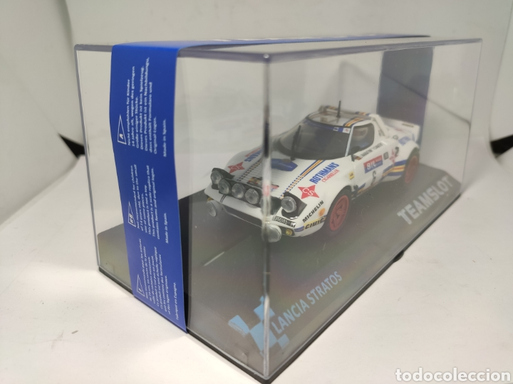 Slot Cars: TEAM SLOT LANCIA STRATOS RACE 1981 REF. 11511 - Foto 2 - 208438527