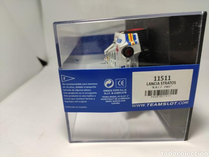 Slot Cars: TEAM SLOT LANCIA STRATOS RACE 1981 REF. 11511 - Foto 4 - 208438527