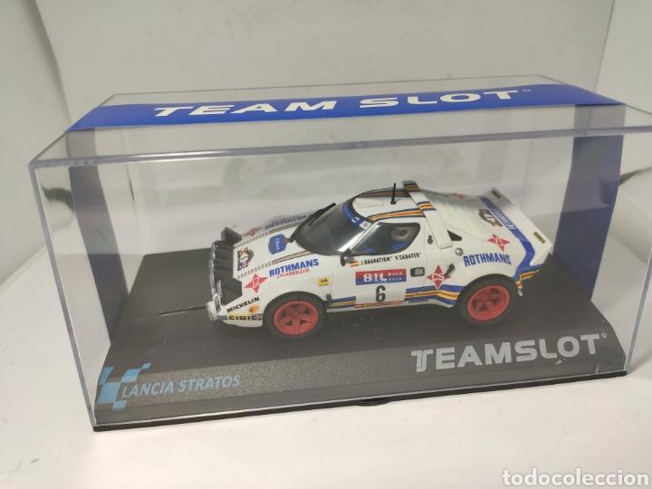 TEAM SLOT LANCIA STRATOS RACE 1981 REF. 11511 (Juguetes - Slot Cars - Team Slot)