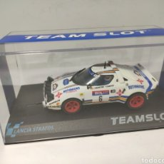 Slot Cars: TEAM SLOT LANCIA STRATOS RACE 1981 REF. 11511. Lote 208438527