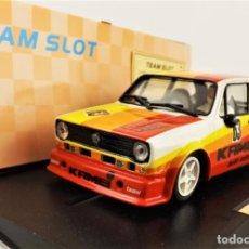 Slot Cars: TEAM SLOT GOLF GRUPO II EDICIÓN. LIMITADA. Lote 209677995