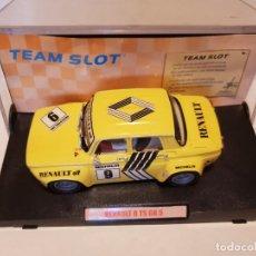 Slot Cars: RENAULT 8 TS GR 5 DE TEAM SLOT REF.-71602 RESINA. Lote 209942040
