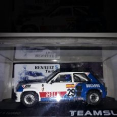 Slot Cars: TEAM SLOT SRE18 RENAULT 5 TURBO EUROCUP 1984 EDICIÓN LIMITADA A 250. Lote 210009626