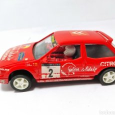 Slot Cars: TEAM SLOT CITROEN ZX CHUS PURAS. Lote 210416341