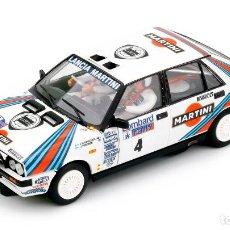 Slot Cars: TEAM SLOT. NOVEDAD ! LANCIA DELTA HF 4WD. RAC RALLY 1987. MARTINI. KANKKUNEN. REF. 12904. Lote 210476955