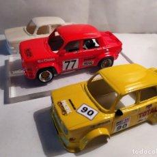 Slot Cars: LOTE CARROCERÍAS SIMCA 1000 TEAM SLOT + CHASIS 3D. Lote 211691328