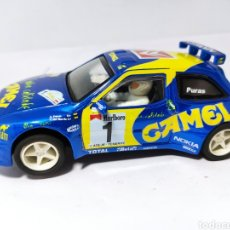 Slot Cars: TEAM SLOT CITROEN ZX KIT CAR CHUS PURAS '98 CAMEL. Lote 212117091