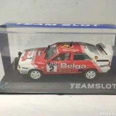 Slot Cars: TEAM SLOT AUDI QUATTRO A1 BOUCLES DE SPA' 83 REF. 12303. Lote 266594993