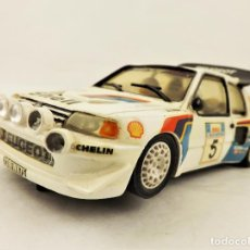 Slot Cars: TEAM SLOT PEUGEOT 205 TURBO PIIRONEN/KANKKUNEN. Lote 213100507