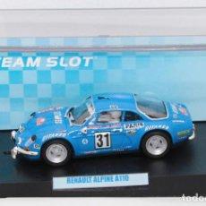 Slot Cars: ALPINE RENAULT A110 GITANES RALLYE DE MONTECARLO 1976 (TEAM SLOT). Lote 213103648