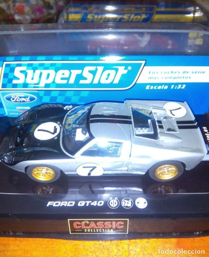 SUPERSLOT SCX SLOT SCALEXTRIC (Juguetes - Slot Cars - Team Slot)