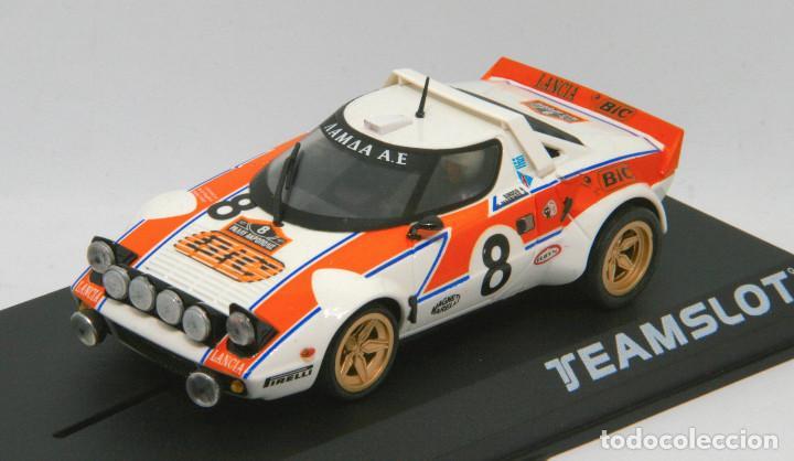 Slot Cars: Lancia Stratos Bic Rallye Acropolis 1978 (Team Slot) - Foto 3 - 215653531