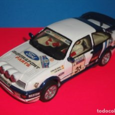 Slot Cars: FORD SIERRA COSWORTH. RESINA, TEAM SLOT.. Lote 219273358