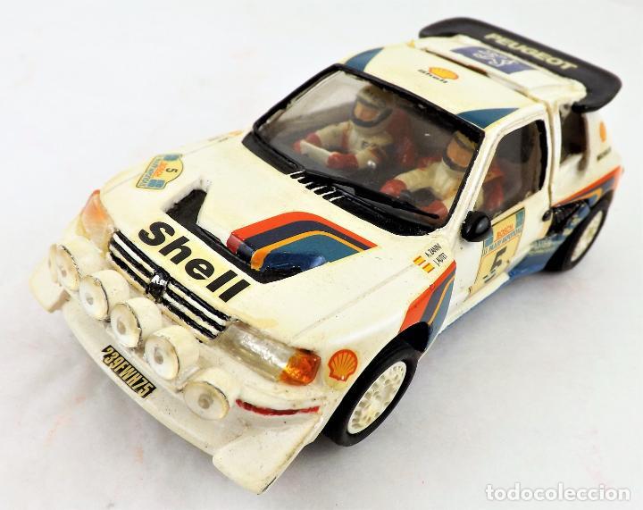 Slot Cars: Team Slot Peugeot 205 T16 Zanini-Autet - Foto 2 - 219890785