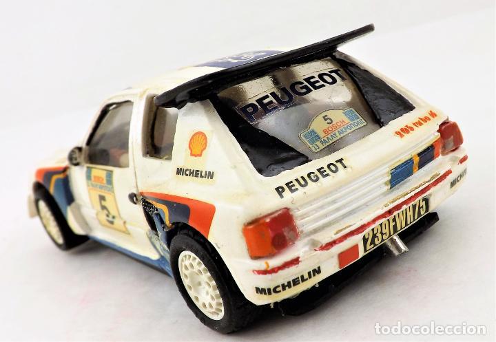 Slot Cars: Team Slot Peugeot 205 T16 Zanini-Autet - Foto 3 - 219890785