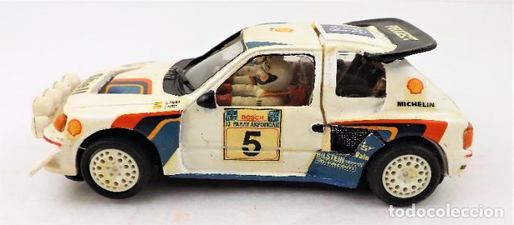 Slot Cars: Team Slot Peugeot 205 T16 Zanini-Autet - Foto 4 - 219890785