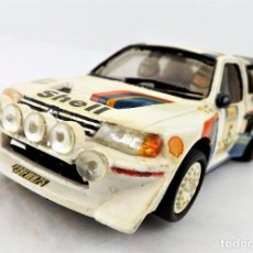 Slot Cars: TEAM SLOT PEUGEOT 205 T16 ZANINI-AUTET. Lote 219890785