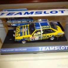 Slot Cars: TEAM SLOT. FORD ESCORT MKII RS200. REF. 12707. Lote 220249472