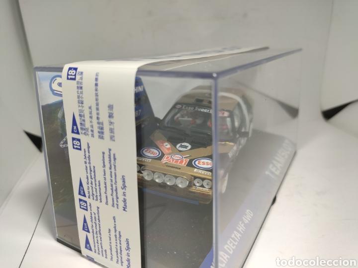 Slot Cars: TEAM SLOT LANCIA DELTA HF 4WD RALLYE SAN REMO87 ESSO REF. 12905 - Foto 2 - 221564163