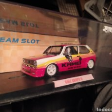 Slot Cars: VOLKSWAGEN GOLF MK1 TEAM SLOT. Lote 222089418