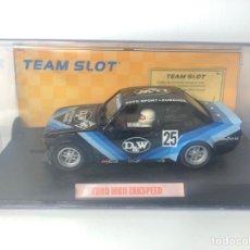 Slot Cars: FORD MKII ZAKASPEED REF 74502 TEAMSLOT. Lote 222308280