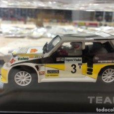 Slot Cars: RENAULT 5 MAXITURBO #3 SAINZ TEAMSLOT. Lote 222552441