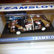 Slot Cars: TEAM SLOT. NOVEDAD!. LANCIA DELTA HF 4WD ESSO. REF. 12905. Lote 223631078