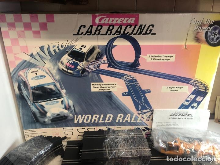 Slot Cars: Carrera car racing World rallye - Foto 2 - 224308435
