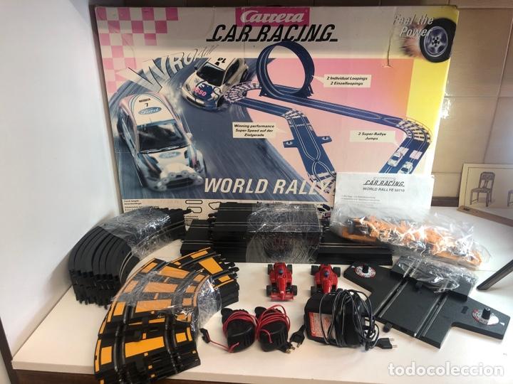 CARRERA CAR RACING WORLD RALLYE (Juguetes - Slot Cars - Team Slot)