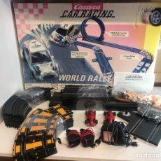 Slot Cars: CARRERA CAR RACING WORLD RALLYE. Lote 224308435