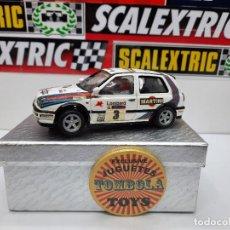 "Slot Cars: VW GOLF III #3 "" MARTINI "" ((RESINA)) SLOT SCALEXTRIC. Lote 224811356"