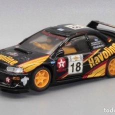 Slot Cars: SUBARU IMPREZA WRC HAVOLINE RALLE ACRÓPOLIS 2000 (TEAM SLOT). Lote 224896431