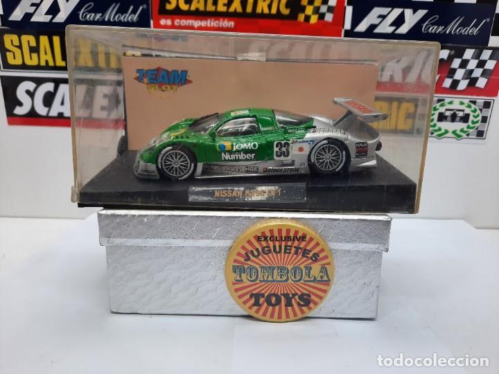 NISSAN R390 GT1 #33 TEAM SLOT SCALEXTRIC (Juguetes - Slot Cars - Team Slot)