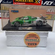 Slot Cars: NISSAN R390 GT1 #33 TEAM SLOT SCALEXTRIC. Lote 224904326