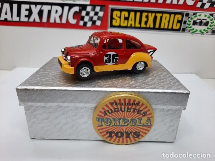 FIAT ABARTH 1000 TCR #36 ( REPROTEC ) SCALEXTRIC (Juguetes - Slot Cars - Team Slot)