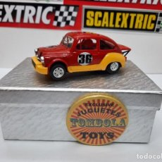 Slot Cars: FIAT ABARTH 1000 TCR #36 ( REPROTEC ) SCALEXTRIC. Lote 225521711