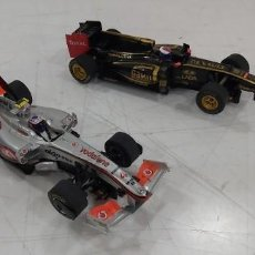 Slot Cars: LOTE DE DOS COCHES SCALEXTRIC FORMULAS 1. Lote 225697397