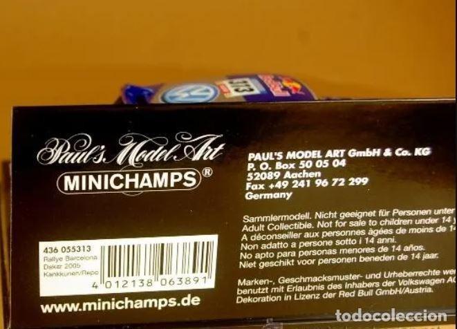 Slot Cars: MiniChamps - Race Touareg Volkswagen. Rally Barcelona-Dakar 2005-Ed limitada 1440 und - Foto 4 - 226871939